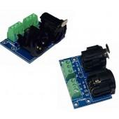 XLR3-3P DMX512 Relays Connector 3pin Terminal Adapter XLR