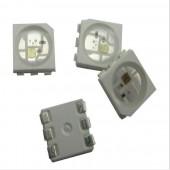 100Pcs WS2815 LED Chip Beads DC12V Signal Break-point Continuous