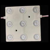 AC110V-220V 9 leds SMD 2835 injection LED module light Backlighting 5pcs