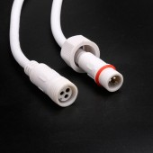 18AGW 3 Pin Waterproof Power Cable Connector