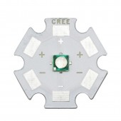 10pcs 3W Epiled 3535 UV High Power LED Light Chip 365nm 380nm 395nm 420nm Ultra Violet DIY with 8mm 12mm 14mm 16mm 20mm star pcb