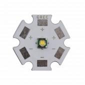 10pcs Cree XP-E R3 Q3 1-3W XPE LED Emitter Light White Green Warm white Red Blue Yellow 450nm 8/12/14/16/20mm pcb