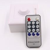 110V 220V SCR LED Dimmer IR Remote Controller Llighting Ddimmer Switch For Single Colour LED Strip Light Lamp