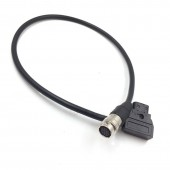 12 Pin Hirose Female Socket to d tap Power Cable for B4 2/3 Fujinon Canon Lens