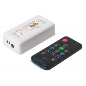 13 Keys RF Remote Bluetooth Music Dream Color Controller for WS2812B WS2811 WS2813 1903 RGB LED Strip 512 Pixels Panel DC5-24V