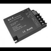 Skydance Led Controller 1CH*20A 12-24VDC CV RF& /1-10V&Push-Dim 3 In 1 Dimming Controller V1-T