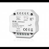 Skydance Led Controller 1CH*3A/6A 12-48VDC CV Dimming Controller (Push Dim) V1-H