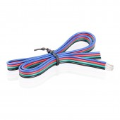 5-24V 22AWG 4 Pin RGB Wire Cable Lighting Accessories Extension Cord