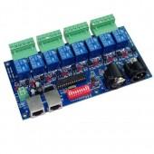 8CH DMX 512 LED Controller DMX512 Dimmer RELAY 10A WS-DMX-RELAY-8CH