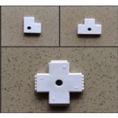 5pcs L T X shape 5 Pin RGBW Connector for 5050 RGBW RGBWW LED Strip Easy