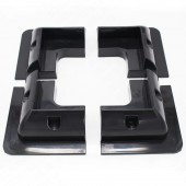 1 Set/Lot ABS Black Solar Panel Mounting Bracket Kits For Caravan Motorhome RV