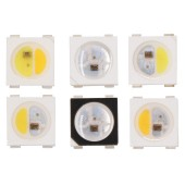 50Pcs 4 Color in 1 SK6812 RGBW SMD 3535 5050 Individually Addressable LED Chip Pixel as WS2812B 5V