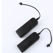 2 AA 3V Battery Case Box Driver Lnverter for 1m 3m 5m Flexible Led Glow EL Wire Tape 1PC/LOT