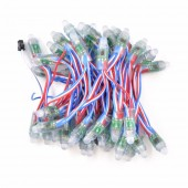 200Pcs WS2811 12MM Diffused Digital Punching RGB LED Pixel Module String Light