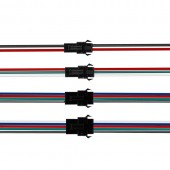 20 Pairs JST Connector 2pin 3pin 4pin 5pin 22AWG SM Male and Female