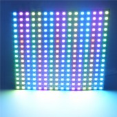 16*16 256 Pixels WS2812B Digital LED Programmed Panel Screen Individually Addressable