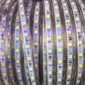 220V Neutral white led strip light 5050 SMD waterproof Led Tape Natural White 5m 10m 15m 20m Powe Plug