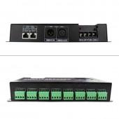 24 Channel DMX512 Decoder DC5V 12V 24V 3A*24CH Led Controller For Single Color RGB Led Strip Light Stage Lighting