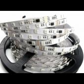 24V 5 Meters 300 LEDs Digital Programmable GS8206 RGB 5050 LED Strip