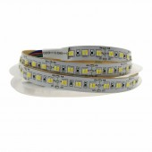 5M 3014 SMD CCT LED Strip 216 LED/m Dual Color Temperature Adjustable Flexible Ribbon light IP20 non-waterproof 5M
