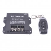 30A RF Led Dimmer 3Key Remote LED Single Color Dimmer Brightness Control For LED Spot lamp Recessed Strip light