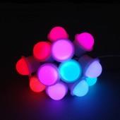 20Pcs WS2811 12V 26mm Pixel LED Module Light 3Pcs 5050 SMD RGB