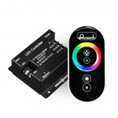 433MHZ LED Lighting RGB Controller with RF Touch Remote 12V-24V