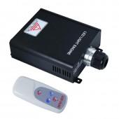 45w RGB Led Fiber Generator Optic Engine Lights Fiber Optics Lighting Driver With 4Key RF Remote For Optic Fiber Light