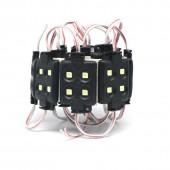 Injection Led Module 5050 SMD 4LEDs 12V Black Shell Waterproof 30PCS