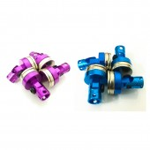4 Pcs Aluminum Magnetic Stealth Invisible Body Post Mount For 1:10 RC Car HSP Tamiya RC Crawler Axial
