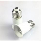 10pcs E27 to E27 Lamp Base Conversion Socket Resistance PC E27 Socket