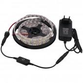 5050 LED Strip RGBW DC 12V Led Flexible Light RGB White/Warm White/Blue/Red colorful strip lights 5m 300LEDs 60Leds/m 5m/lot