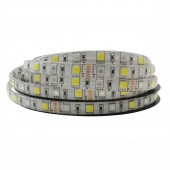 5050 SMD RGB+CCT LED Strip Light 60LEDs/m RGBW Full Colour Temperature adjustable LED Strip RGB CCT 24V 10mm PCB 5m/lot