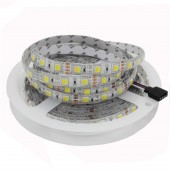 5M 5050/5025 CCT LED Strip 300 leds Dual White Warm White & White 2 in 1 Chip Led Tape Light Color Temperature Ajustable DC12v