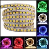 5M 600 LED 5054 LED Strip Light DC12V Ribbon Tape Brighter Than 5050