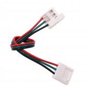 20Pcs 3 Pin Connectors PCB Solderless Corner Connectors 1 2 Clip For 10mm