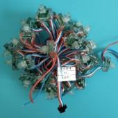 5V 50 Nodes Rectangular IP68 WS2811 RGB LED Pixel Module Light