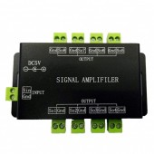 DC5V Pixel Signal Repeater Amplifier Controller For 5V / 12V WS2811 WS2812B SK6812 Led Pixels