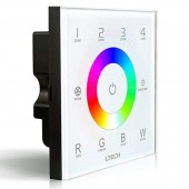 2.4GHz DMX512 DX8 RGBW Sans fil Console Master RF LED Touch Screen Dimmer Controller 4 Zones Control RGB RGBW LED Ruban Bande LED