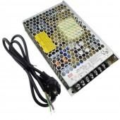 150W 6.5A 24V AC/DC Interrupteur Source de courant Convertisseur +EU câble électrique pour Éclairage LED