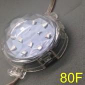 80mm 24V B C D E F Type 20 Nodes UCS2903 RGB 5050 LED Point Light