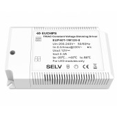 Euchips EUP40T-1W12V-0 40W 12VDC Constant Voltage Dimmable Driver
