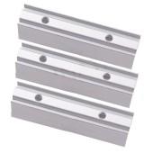 10mm 12mm Width Led Neon Rope Holder Clip Aluminum Profile For 220V 2835 5050 Flexible Led Neon Rope Soft Bar Light