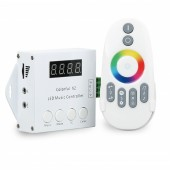 Adrdressabe Pixel Strip Light Controller X2 With Music Thyrhm Control Function