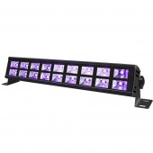 18 LED 54W UV Violet Stage Black Lighting Effect Bar Black Party Holiday Birthday Wedding Club DJ Disco Wall Washer Lights