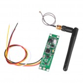 2.4Ghz Wireless DMX 512 Transmitter Receiver PCB 2 in 1 Module Board with Antenna for DMX Stage Lighting Controller