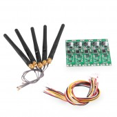5 PCS 2.4G DMX 512 Wireless Controller PCB Module 2 in 1 Transmitter Receiver For DMX Stage Light Built-in Wireless DIY