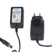 DC 12V 1.5 Power Supply US AU UK EU Plug Adapter Cord for ALIEN Indoor Laser Stage Lights DM DA LL Series 5.5*2.5 mm