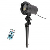 Remote Red Green Static Christmas Outdoor Waterproof Star Laser Projector Garden Xmas Tree Holiday Lawn Shower Lighting