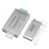 Aluminum Led RGB Wireless RF Controller with Remote 12V/24V